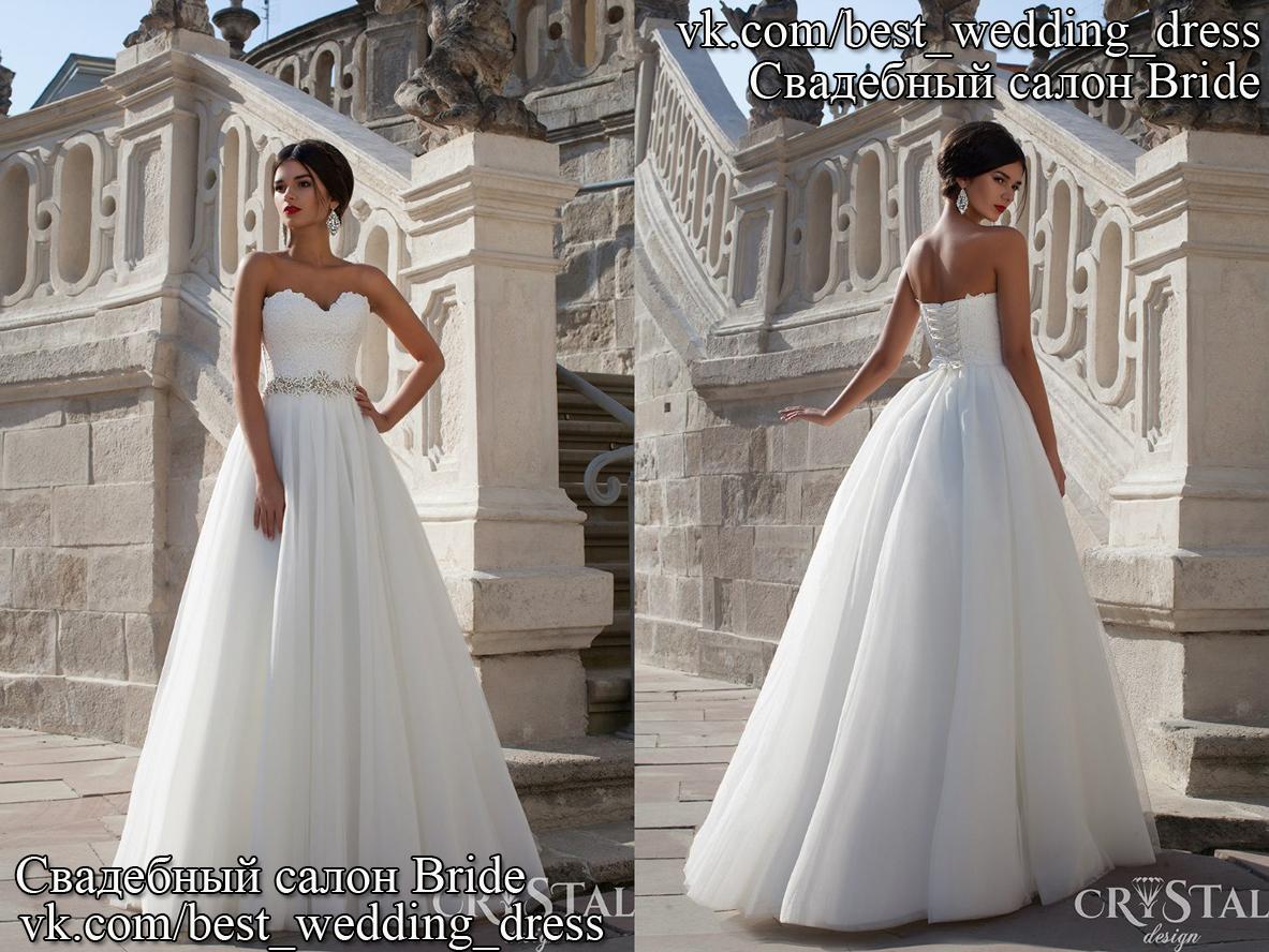 cd233c0c932af2 Весільна сукня Celine CR Весільна сукня Celine Дизайнер: Crystal Сілует:  Пишна, шар