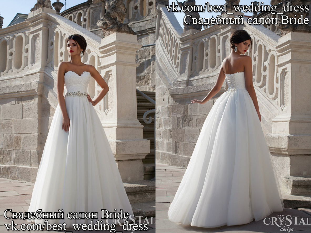 Весільна сукня Celine CR 25.05.2015 Весільна сукня Celine Дизайнер  Crystal  Сілует  Пишна e0047b62011a8