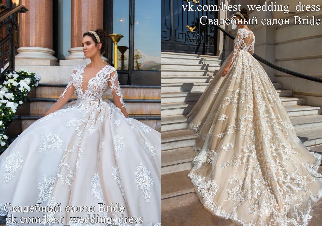 88abcb464993ad Весільна сукня Chantale Дизайнер: Crystal Design Сілует: Пишна, А-сілует.  Колекція: Колекці..